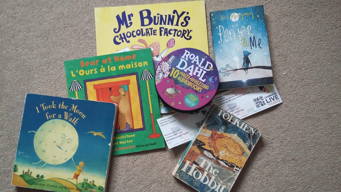 Reading Aloud to my children: some reflections on the first 9 years