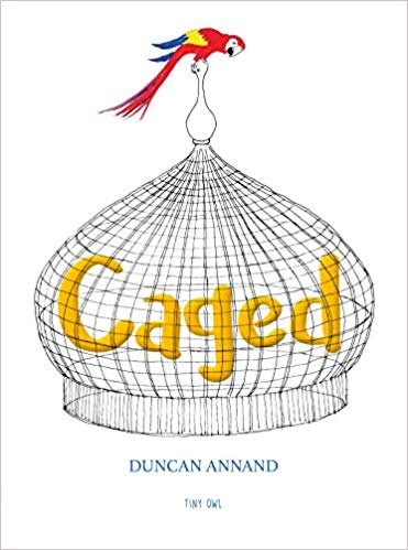 Caged – a wordless picture book that makes you think