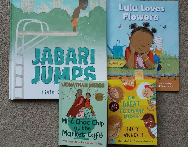 Stories with diverse characters: where children are doing everyday things