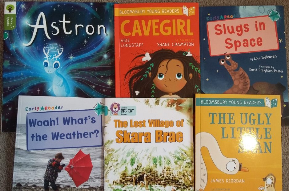 High quality turquoise level early readers – books which help children make connections and build empathy